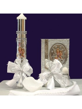 Angel Candle Set: Baptism and First Communion