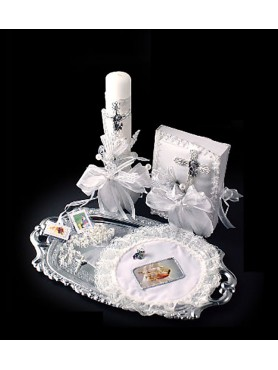1st Communion Candle set 5