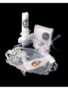 1st Communion Candle set 6