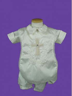 Baptism Boy Gown 2pc 2.1