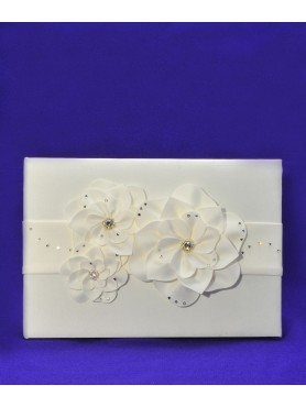 Guest Signature Book Ivory
