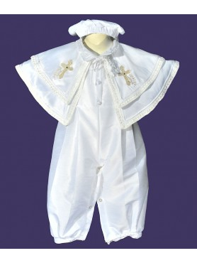 Boy Romper with Crosses