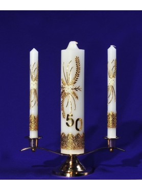 50 Year Anniversary Unity Candle