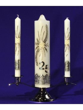 25 Year Anniversary Unity Candles