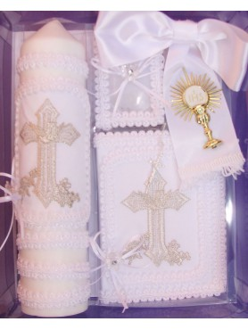 Silver Cross First Communion Set