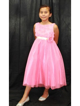 Light Pink Flower Girl Dress