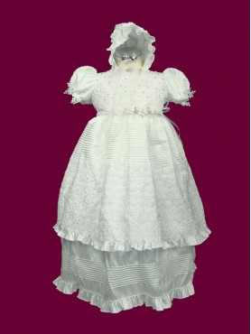 2pc Baptism Gown 13'